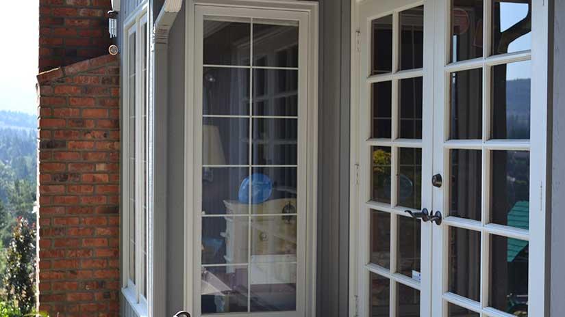 Clear Image Glass Wood Sash Windows Issaquah WA