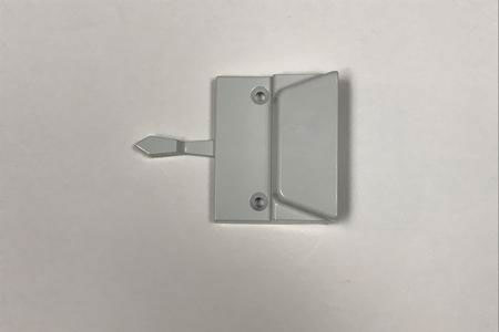 Low Profile Sash Lock white hardware